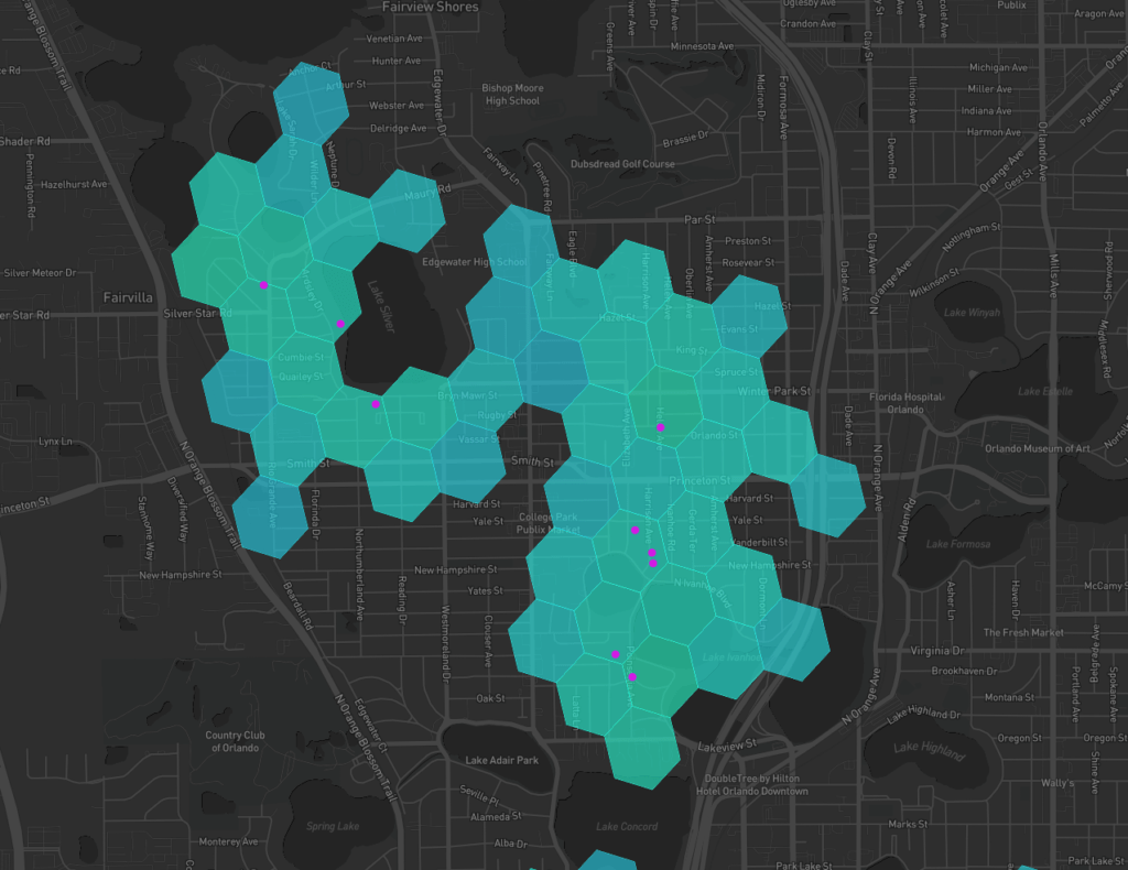 Wireless Coverage Map of Helium